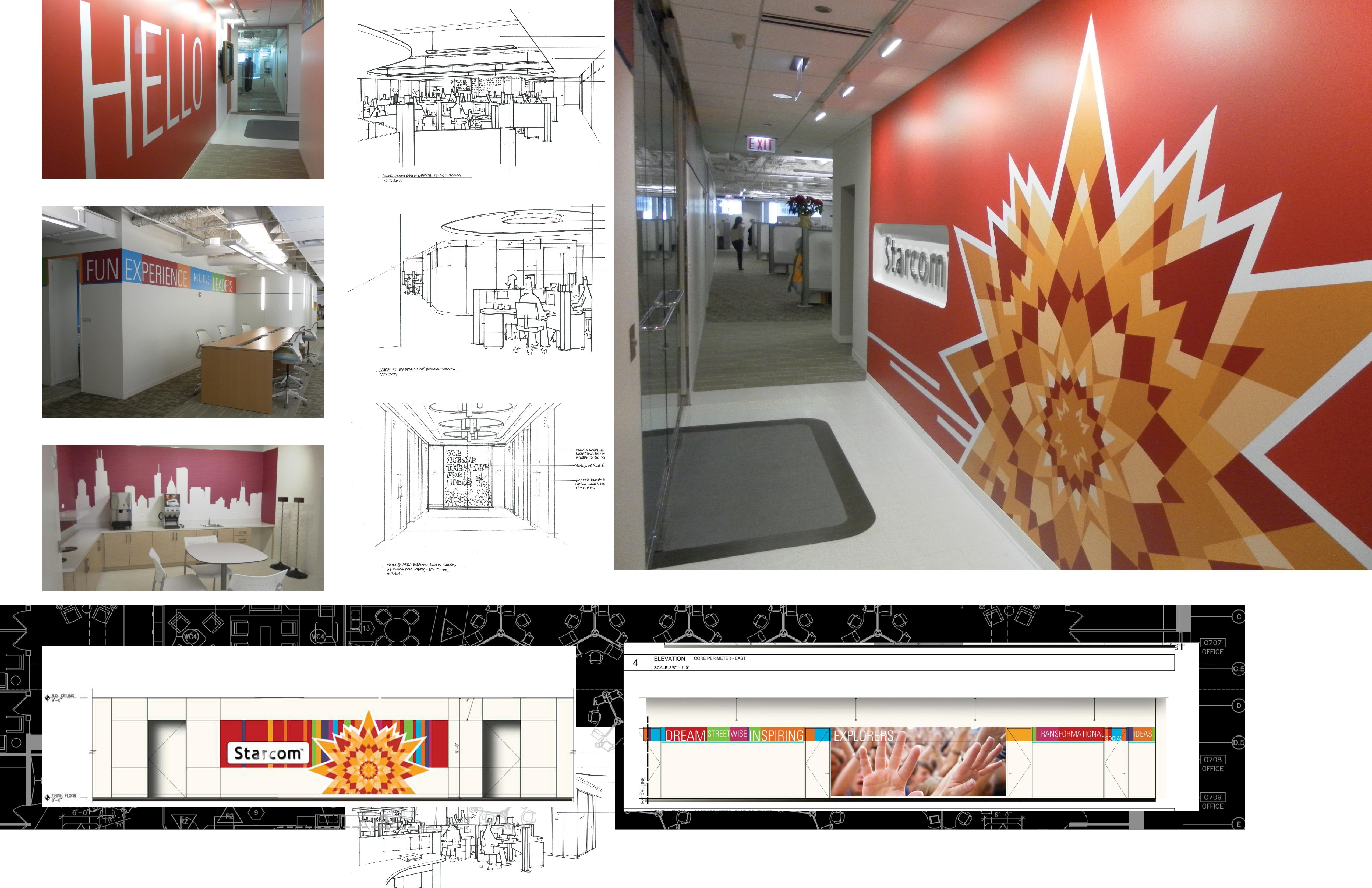 Starcom Mediavest Interior Design Steven Ohlhaber Studios