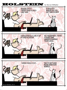 Budhist Kitty