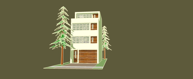 _townhouse model GREEN