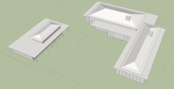 Sketchup - SHAW HOUSE v13